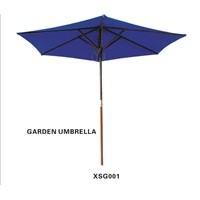 Wooden Umbrella (XINYU020-WD)