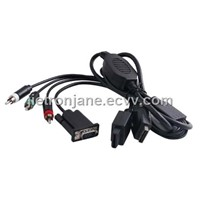 Wii / PS3 VGA Cable