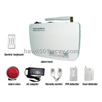 Wireless & Wired GSM Alarm System  Hawk-GSM01