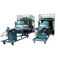 ZLE black engine oil recycling/refining machine