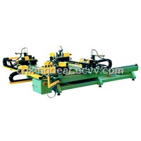 Four Head Corner Crimping Machine