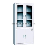 Glass Filing Cabinet