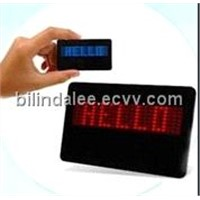 LED Sign (LED NAME BADGE-002)