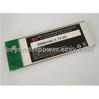 Lithium Polymer Battery Cell 4000MAh