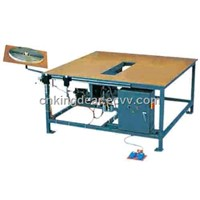 rubber stripe assembling table