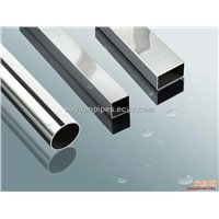 Stainless Steel Seamless Square Pipe (Polish)