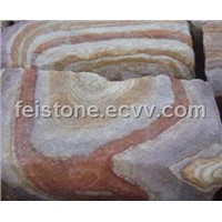two-color sandstone