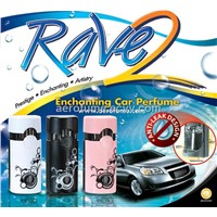 Air Freshener - Rave 2 Car Perfume with Anti-Leak Design