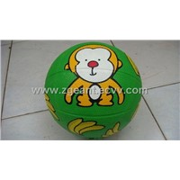 Rubber Basketball - Cartoon Design
