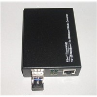 SFP Media Converter (10/100/1000M and 1000M)