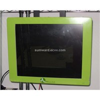 "17"" sumward in-bus lcd ad player"