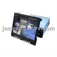"7"" Manual In-Dash TFT-LCD Car Monitor with AM/FM Radio"