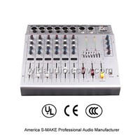Audio Mixer with Power Amplifier - PMX-602C
