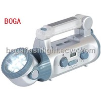 Solar Powered Flashlight (BG-8588)