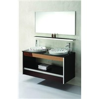 Bathroom Cabinet with Two Basins