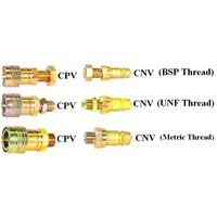 CPV-CNV Use For Industrial Double Shut Off Quick Coupler