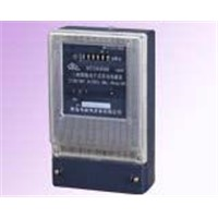 DTS6006Type electronic three-phase watt-hour meter