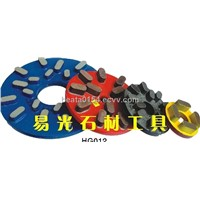 Diamond resin bond grinding disc