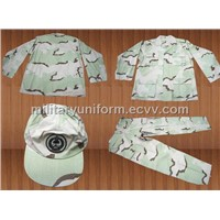 Military Camouflage BDU Fatigue Uniform Overall Uniform Bdu Pant BDU Shirt