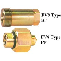 FV8 Used for Industrial Double Shut off Quick Coupler