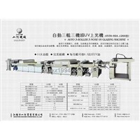 Full-auto UV Glazing Machine (3-Roller 3-Nose)