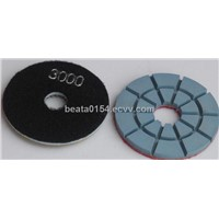 Hard polishing pad