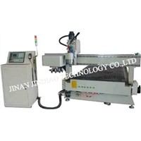 JD CNC Router (woodworking machine) --- JDM25H (Auto tool changer)