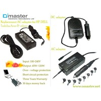 Laptop Power Adapter with Universal Connectors
