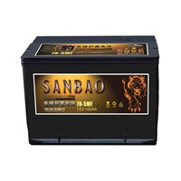 Maintenance-free Car Battery 78-5MF