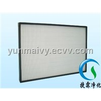Mini-pleat HEPA filter(hepa panel)