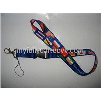 Neck Strap with Flags (FY-015)