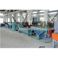 PET Bottle Flakes Recycling Line