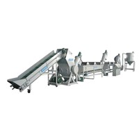 PP & PE Bottle Flake Recycling Line