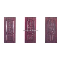 PVC Coating Panel Steel Door