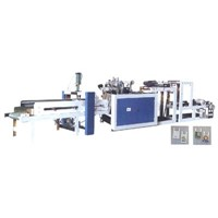 RHT-600-800 Hot Sealing And Hot Cutting Machine with Automatic Punching Unit