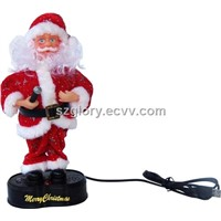 USB DANCE&SING SANTA CLAUS