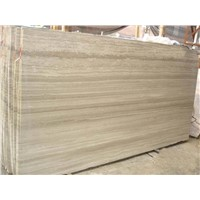 Wooden grain grey marble tiles