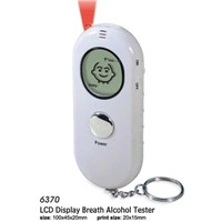 LCD Display Breath Alcohol Tester - 6370