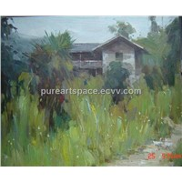 Country Scenery Oil Paintings