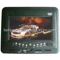 Headrest Car DVD Player