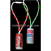 led rainbow light up lanyard