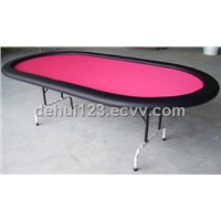 luxurious folding poker  table