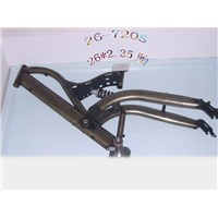 suspension bike frame
