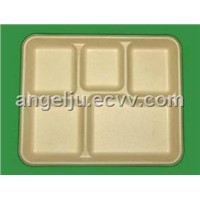Unbleached Disposable Tray