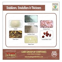 Stabilizers, Emulsifier & Thickeners