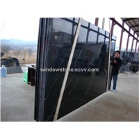 Marble Slab in Chinese Nero Marquina