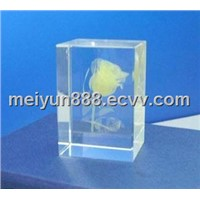 Colored Laser Crystal