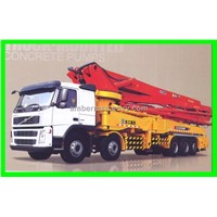 Truck-mounted Concrete Pump (56m)