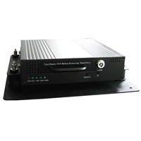 4-channel CCTV mobile DVR with embedded Linux operation system
