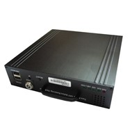 4 channel mobile DVR with 8-36V voltage input